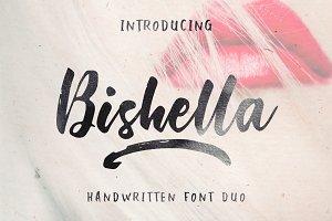 Bishella Font Duo