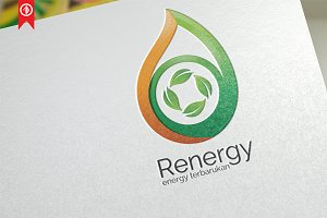 Resource Energy - Logo Template