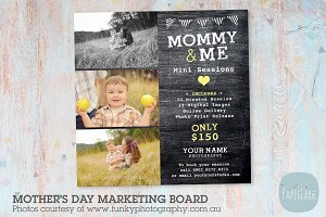 IM022 Mother's Day Marketing Board