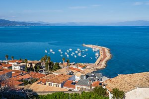 traditional Greek village of Koroni, Messenia