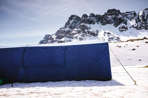 Tent. Refuge