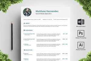 Turquaz Resume Template