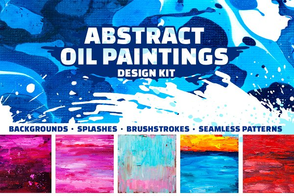 Abstract. Oil paintings.
