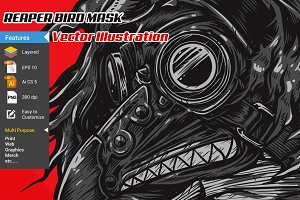 Reaper Bird Mask