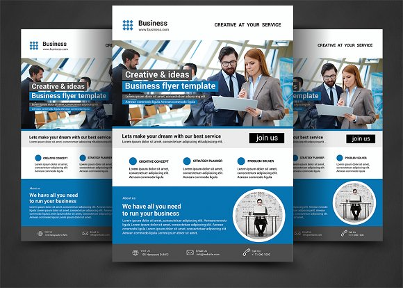 corporate flyer by afzaalgraphics in templates flyers