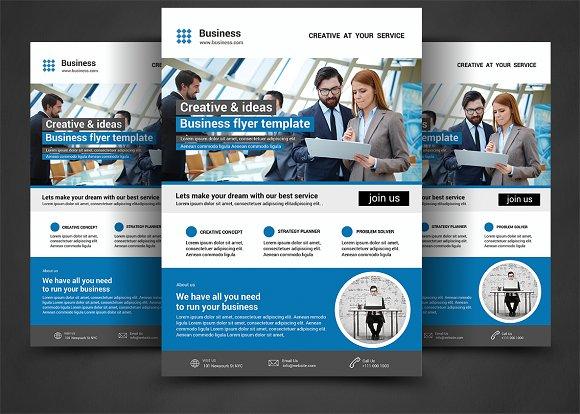 corporate flyer flyer templates creative market