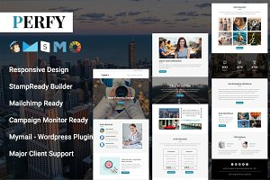 Perfy - Responsive Email Template
