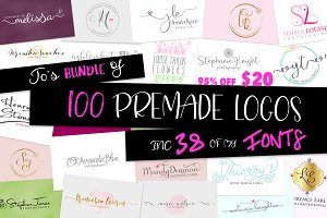 Logo Bundle with fonts