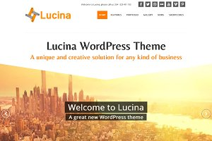 Lucina - Creative Business Theme