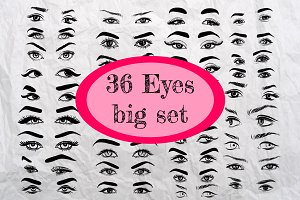 36 Eyes big set.