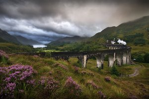 Glefinnan viaduct, Scottish Highland