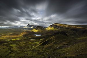 Quiraing view, Scottish Highlands