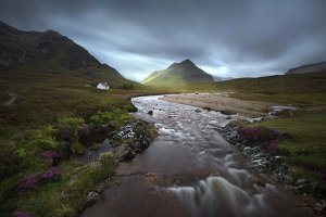 Glencoe mountains, Scottish Highland