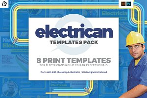 Electrician Templates Pack