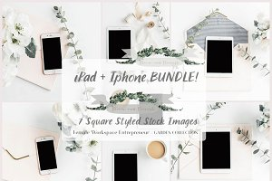 Ipad + Iphone BUNDLE! 7Styled Images