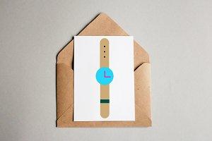 Wristwatch Art Illustration