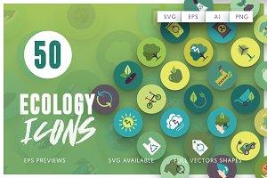 50 Ecology Icons