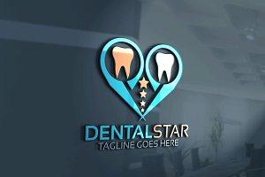 Dental Star Logo Version 2