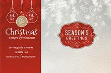 Christmas Badges Bundle – 30% off