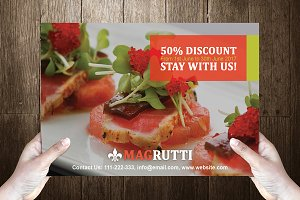 Rutti Post Card Template Design