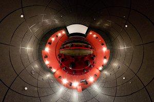 Panorama of cinema hall