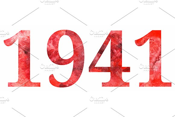 1941 The Great Patriotic War Vector