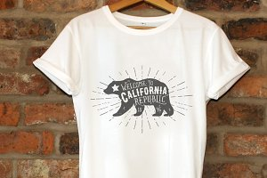 Vintage California Republic