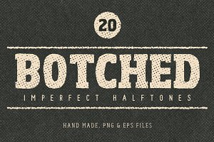 Botched Halftone Textures