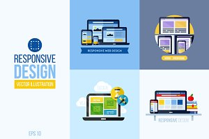 Concepts of responsive web design