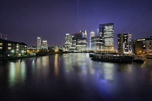 Skyline of Docklands