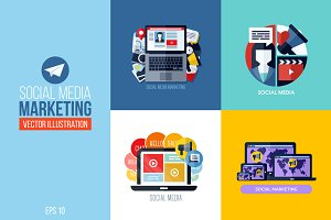 Social media marketing concepts