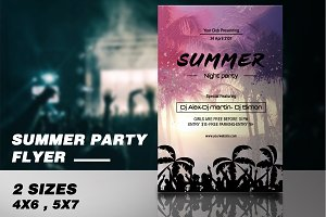 Summer Party Flyer -V537