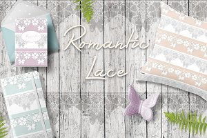 SALE! Lace romantic patterns
