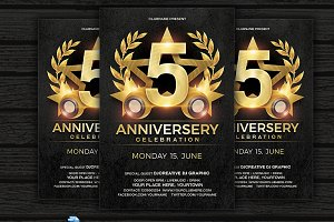 Anniversary Celebration Flyer