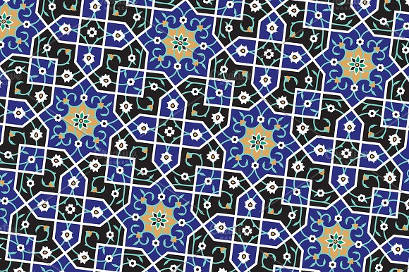Arabic Seamless Pattern in Patterns - product preview 1