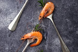 Shrimps prawn
