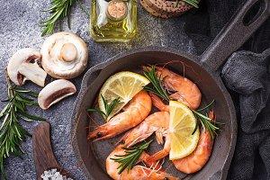 Shrimps prawn