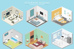 Different Interiors, Isometric set
