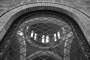 Arched Window Ironwork