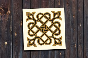 Arabic Floral Ornament