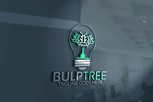 Bulb Tree Logo