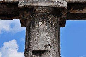 Doric Column Inscription