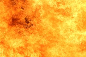 background of blaze fire flame
