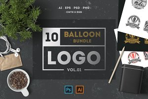 Balloon. Vintage Logo & Badge Vol. 1