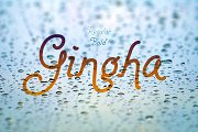 Gingha: A Curly Font