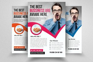 Business Motivation Flyer Template