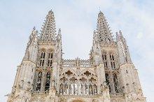 Cathedral of Burgos facade, Spain