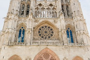 Cathedral of Burgos facade, Spain