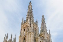 Cathedral of Burgos entrance.