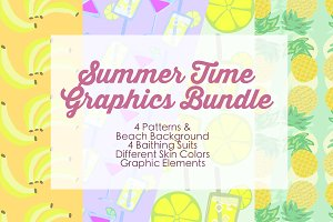 Summer Time Graphic Bundle